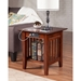 Mission End Table - Charger, 1 Shelf - ATL-AH1421