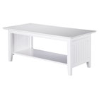 Nantucket Coffee Table - Rectangular, 1 Shelf