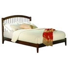 Windsor Open Foot Bed - Platform, Walnut