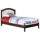 Windsor Wood Bed - Platform, Walnut