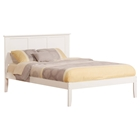 Madison Platform Bed - White