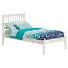Mission Platform Bed - Open Foot