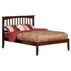 Mission Platform Bed - Walnut