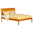 Portland Queen Open Foot Bed - Platform