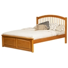 Windsor Platform Bed w/ Raised Panel Footboard