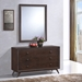 Tracy Dresser and Mirror - Cappuccino - EEI-5310-CAP-SET