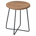Rainbox Stool - Black Legs (Set of 2)