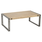 Brooklyn Rectangular Coffee Table - Dark Brown