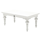 Provence Rectangular Coffee Table - Pure White