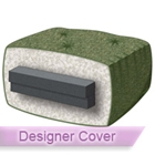 Silver 6'' Queen Futon Mattress with Designer Cover