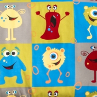 Monster Friends Futon Cover