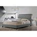 Jazmin Button Tufted Platform Bed - Nailheads - WI-BBT6293-U-BED