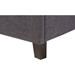 Lea Queen Storage Platform Bed - Dark Gray - WI-BBT6572-DARK-GRAY-QUEEN-STORAGE-BED