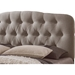 Romeo Upholstered Platform Bed - Button Tufted - WI-CF8609-BED