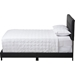 Brookfield Upholstered Bed - Grid-Tufting, Dark Gray - WI-CF8747B-CHARCOAL