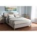 Laureo Upholstered Platform Bed - Grid-Tufting Headboard - WI-CF8824-BED