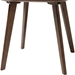 Dahlia Wood End Table - Walnut - WI-DAHLIA-WALNUT-ET