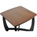 Straitwoode Square End Table - Cherry and Dark Brown - WI-HM909-40-ET