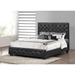 Manchester Faux Leather Platform Bed - Tufted - WI-JET-8021