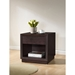 Girvin 1 Drawer Nightstand - Dark Brown - WI-ST-008-AT