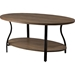 Newcastle 3-Piece Table Set - Brown, Antique Bronze - WI-YLX-2682-AT